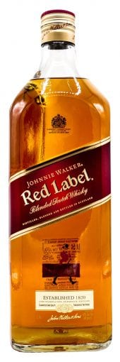 Johnnie Walker Blended Scotch Whisky Red 1L