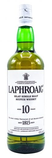 Laphroaig Single Malt Scotch Whisky 10 Year Old 750ml