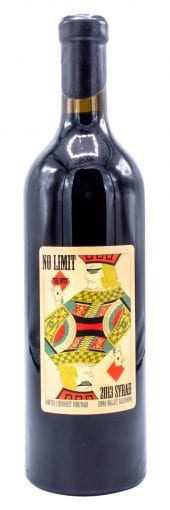 2013 No Limit Wines Syrah The Nuts 750ml