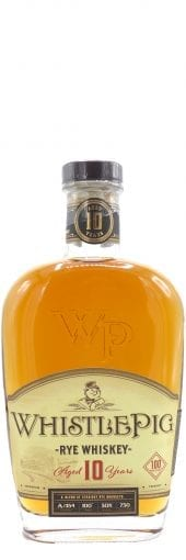 Whistle Pig Straight Rye Whiskey 10 Year Old 750ml
