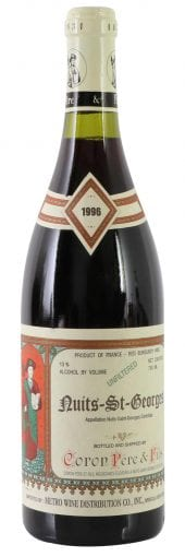 1996 Coron Nuits St. Georges 750ml