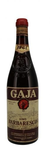 1961 Gaja Barbaresco 750ml