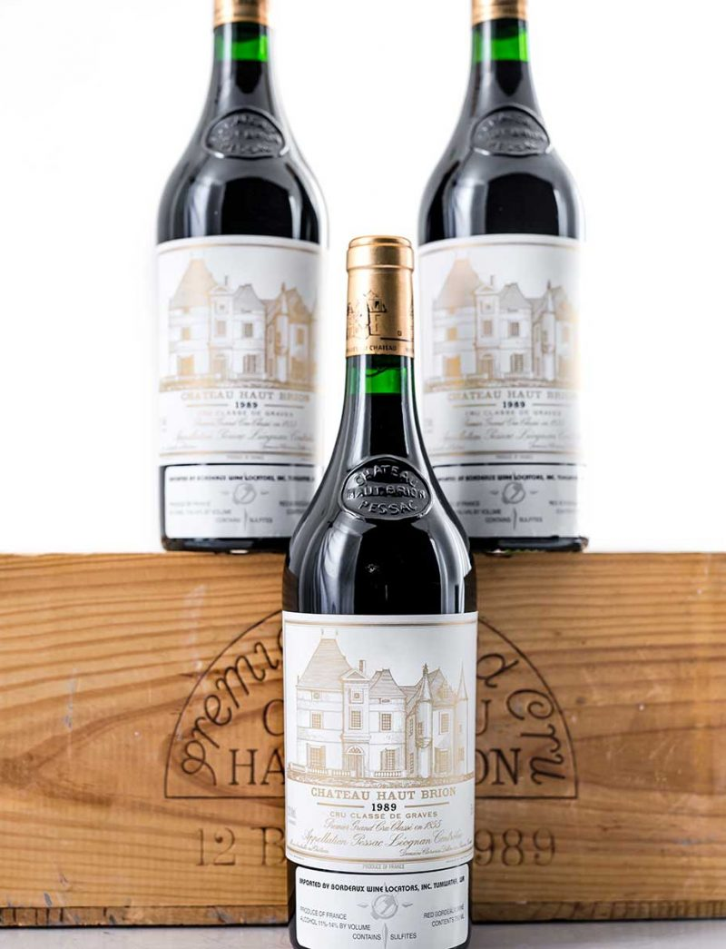 Lot 323: 12 bottles 1989 Chateau Haut Brion in OWC