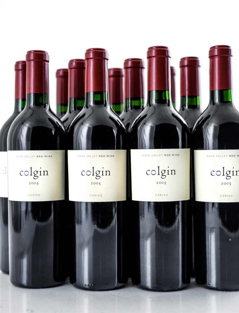 Lot 205: 12 bottles 2005 Colgin Red Cariad Vineyard